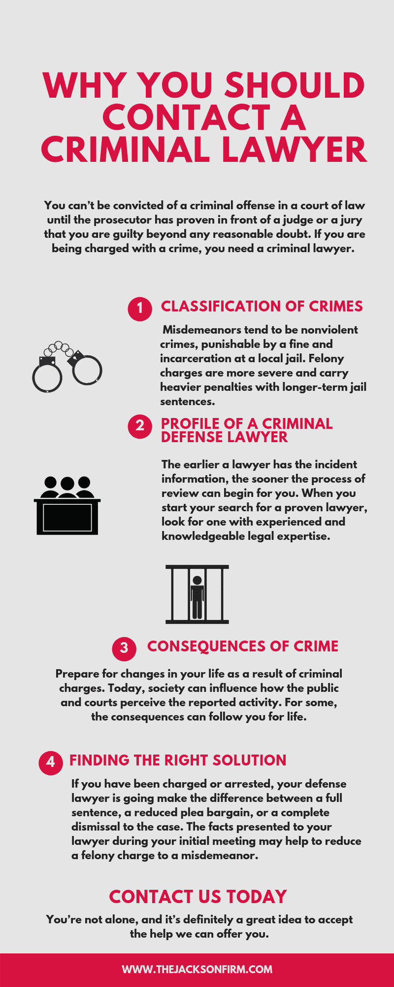 Central Texas Criminal Lawyer Infographic